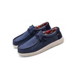 Lacyhop Mens Loafers Shoes Casual Shoes Viscose Shoes Denim Anti-Slip