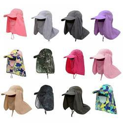 Yinrunx Sun Hats for Men Mens Sun Hat Fishing Hats for Men Hiking Hat Men's Sun Hats Sunhat Hiking Hats for Men Outdoor Sun Protection Waterproof Fishing Cap Face Cover Summer Neck Flap Hat Quick Dry