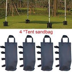 4Pcs Outdoor Tent Sandbag Single Pocket Anti-Sleeping Support Fixed Tent Bag