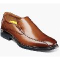 Florsheim Forecast Waterproof Bike Toe Slip On Casual Shoes Cognac 12189-221