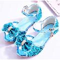Hawee Dress-up Pump Crystal Princess Dress Shoes (Toddler Girls & Little Girls)