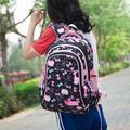 Satchel Girl School Backpack School Bag Backpack Children Daypack 3 parts Set for school and leisure