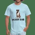 Boxer Dad Shirt, Dog Dad TShirt, Gift For Dog Lover, Dog Tshirt, Gift for Boxer Dad, Dog Papa Tee, Dog Dad Gift, Boxer Lover Shirt