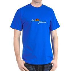 CafePress - San Francisco Sunset Dark T Shirt - 100% Cotton T-Shirt