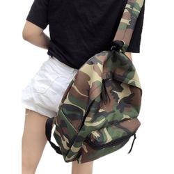 Women's Canvas Camo Travel Outdoor Hiking Backpack School Bags Rucksack