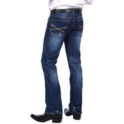 Stetson Western Denim Jeans Mens Rocks Fit Royal 11-004-1014-3000 BU
