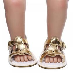 Infant Baby Girl Boy Sandals Summer Shoes,Outdoor First Walker Toddler Girls Shoes Beach Shoes,Toddler PU Cross Strap Anit-slip Soft Sole Flats Prewalker Crib Shoes for Baby Girls Boy 0-24Month