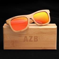 Atralife Sunglasses For Azb Bamboo Glasses Coated Bamboo Polarized Sunglasses Wooden Vintage Sunglasses With Bamboo Box