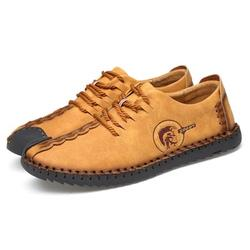 Men's Casual Leather Shoes Loafers Breathable Hand-sewn Non-slip Walking Shoes;Men's Casual Leather Shoes Loafers Hand-sewn Non-slip Walking Shoes