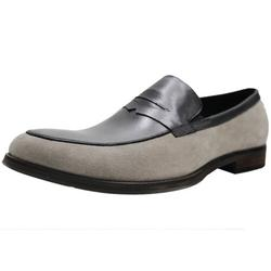 Fashion Mens Dress Shoes Slip-on Leather Shoes Manmade Sole Formal Loafer Comfortable Casual Shoes Business Shoes