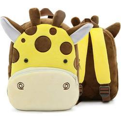 Toddler backpack, nursery backpack, plush animal backpack, mini cartoon backpack, mini animal backpack, preschool backpack, children's backpack, toddler school bag for baby girls, 1-3 years
