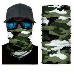 Woodland Camo Face Balaclava Scarf Neck Hunting Sun Gaiter Headwear Mask
