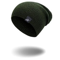 Men's 1PC Unisex Knit Baggy Beanie Hat Ski Slouchy Chic Knitted Cap Wool Beanie Elastic Hat