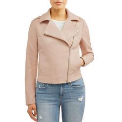 Sofia Jeans by Sofia Vergara Asymmetrical Zip Moto Jacket, Women's