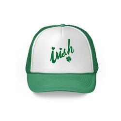 Awkward Styles Irish Trucker Hat St. Patrick's Day Shamrock Irish Green St Patty Hat St Pats Hat Leprechaun St Patricks Day Top Hat St Pattys Days St Patrick Clothing Accessories
