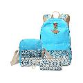 3Pcs/Sets Backpacks for Teenage Girls for School, Canvas Backpacks for Girls Scatchel Rucksack Backpacks for Middle School, Causual Backpack for Traveling