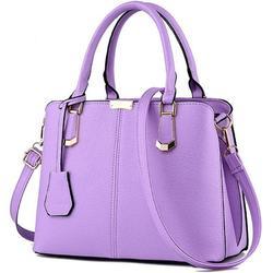 Women Handbags PU Leather Top Handle Satchel Tote Purse Shoulder Bags Messenger bag for Women Leather Ladies Shoulder Bag Fashion Tote Bag Casual Work