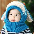 Anti-season Sale Supercute Winter Toddler Kids Girls Boys Hats Multi-function Baby Hats Warm Woolen Hat Coif Hood Scarf Scarves Caps Hats