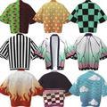 GloryStarMen And Women Pajama Animation Pattern All-match Loose Cape Long-sleeve Jacket