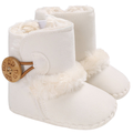 Citgeett Baby Girl Boy Anti-Slip Warm Casual Snow Boots Shoes Soft Bottom Shoes Boots,0-6 Months