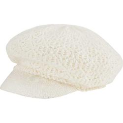 Women's San Diego Hat Company Solid Knit Cabbie Newsboy Cap KNH2005