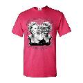 Mens Marilyn Monroe Two Faces Short Sleeve T-Shirt