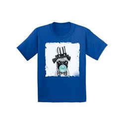 Awkward Styles Cute Pug Lovers Shirts Funny Gifts for Kids Childrens Outfit Puppy Pug Tshirt Pug Toddler Shirt Toddler T Shirt for Kids New Animal Collection Funny Pug with Gum Pug Clothing