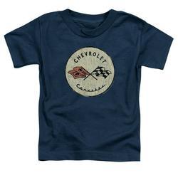 Chevrolet - Old Vette - Toddler Short Sleeve Shirt - 4T