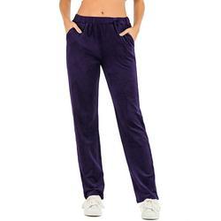 Women Velvet Pant Women Pajama Pant Comfy Velour Pants Yoga Running Sport Pants Casual Jogger Pants Soft Yoga Velour Pants Jogger Pants Warm Winter Sweatpants Velour Track Pants