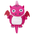 Children's Backpack Cartoon Cute Dinosaur Toddler School Bags Baby Backpack with Safety Lead Hanger School Bag for Boys Girls Toddlers 2-6 Years,
