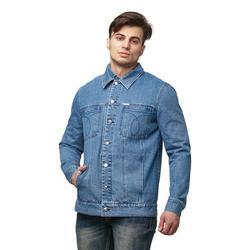 DASTI Blue Denim Jean Jacket for men Jeans Jackets Long Tall slim Mens Summer