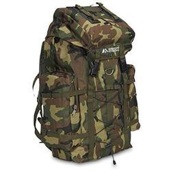 Deluxe Large Camo Army Military Backpack Hiking Camping Gear, Jungle Army/Military/Camping Hiking Backpack By everest