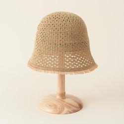 Egmy Summer Kids Womens Visor Hats, Outdoor Weave Parent-child Hats, Fisherman Hat/Beret Hat/Empty Top Hat/Bucket Hat