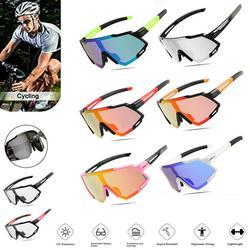 CVLIFE Cycling Glasses Sports Sunglasses Polarized Goggles Anti-Fog UV400 Lenses Photochromic Sports Eyewear for Cycling Baseball Fishing Ski Running Golf