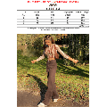 Binpure Female Jeans, Solid Color High Waist Trousers Close-Fitting Pants