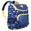 Vbiger 12inch Kids Backpack for Toddlers, Boys & Girls, Waterproof Polyester School Bag Travel Backpack for Kids, Cloud Pattern, Navy Blue