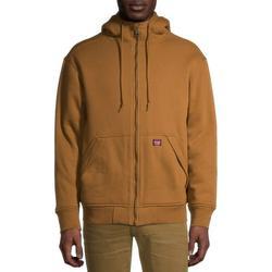 Wrangler Men's Guardian Heavy Weight Fleece Sherpa Lined Water Repellent Hoodie Jacket