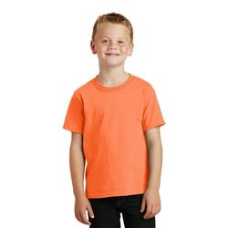 Port & Company Youth Core Solid Short Sleeve Cotton Tee, Many Colors Available