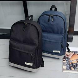 Men Women Casual Rucksack Laptop Backpack Classic Bookbag Lightweight School Bag