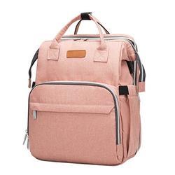 Moonvvin Bag Handbag Backpack Luggage Baby Bottle Field Pack Knapsack Foldable Mommy Fashion Portable Zipper Women Large Capacity