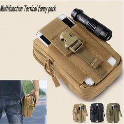 High Quality Multifunction Waist Packs Tactical Molle Waist Bags Unisex Outdoor Sport Waist Pack Purse Travel Belt Pouch