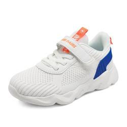 Dream Pairs Kids Girls & Boys Fashion Sneakers Casual Sport Shoes Casual Walking Tennis Shoes Qstar-K White/Royal/Blue/Coral Size 13