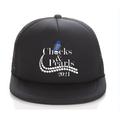 Puloru Adults Peaked Cap Letter Shoes Pattern Print Baseball Sun-Resistant Hat
