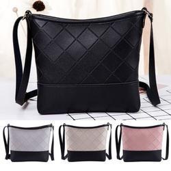 Fashion Lady PU Leather Satchel Messenger Cross Body Bag Handbag Shoulder Bag Tote Bag