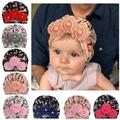 Baby Newborn Girl Beanie Hat Infant Toddler Bowknot Beanie Cute Hat Hospital Cap Comfy Turban Hat