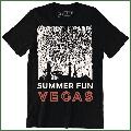 Summer Fun Vegas Nice Las Vegas City Skyline Men's Gift T-Shirt