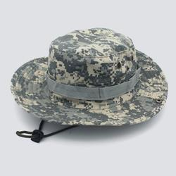 Andoer Outdoor sun shade round hat mountaineering hat CP camouflage jungle hat Benney hat fisherman hat men and women ACU