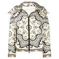 Moncler Ladies Black Turquin Printed Puffer Jacket
