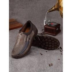NK Fashion Casual Shoes for Men's Antiskid Breathable Leather Old Beijing Shoes Brown/Camel/Green