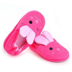 Clearance Sale Autumn Winter Baby Slippers Antiskid Girls Shoes Cute Pink Rabbit Indoor Shoes Little Girls Casual Shoes Warm Keeping Shoes